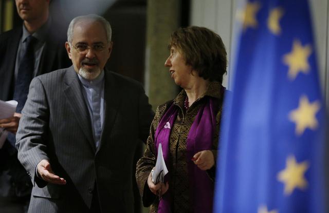 مصادر: اشتون تلتقي ظريف 20 نوفمبر في جنيف قبيل المفاوضات بين إيران والسداسية