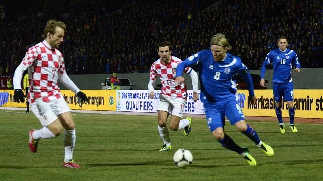 ايسلندا تحرج كرواتيا في الملحق المؤهل الى مونديال 2014