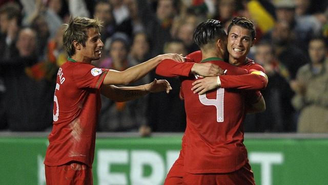 رونالدو يقود البرتغال الى فوز قيصري على السويد في ملحق مونديال البرازيل