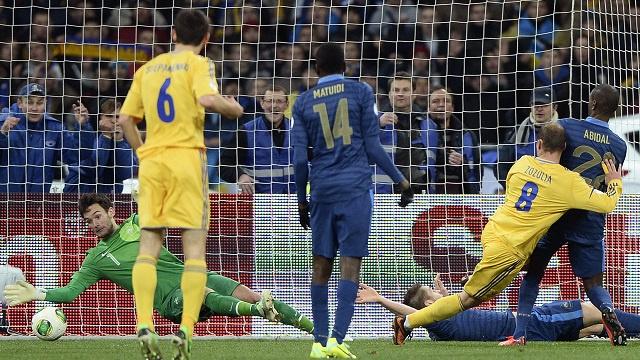 أوكرانيا تقهر فرنسا وتقترب من مونديال 2014