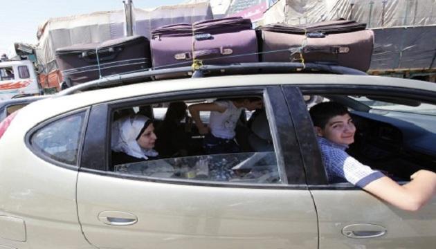 10 آلاف لاجئ سوري جديد إلى لبنان