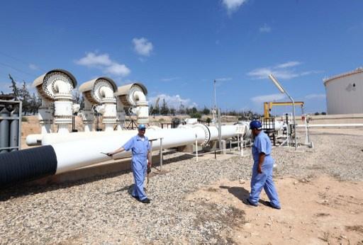 ليبيا تأمل في استئناف صادرات الغاز إلى إيطاليا يوم الأحد