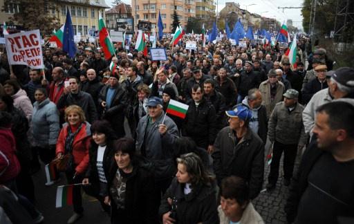 مظاهرات حاشدة لمؤيدي ومعارضي الحكومة في بلغاريا