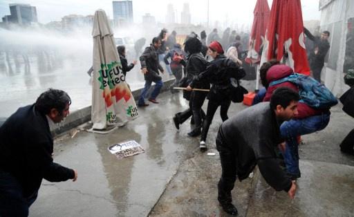 مظاهرة في إسطنبول مناوئة للحكومة