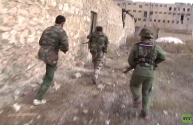 عدسة RT ترصد تقدم الجيش السوري في ريف حلب