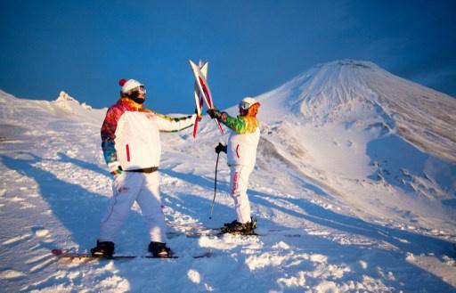 الشعلة الأولمبية تزور أبرز المواقع في الشرق الأقصى الروسي
