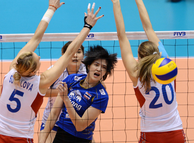روسيا تخسر أمام تايلندا وتكتفي بالمركز الرابع في كأس البطلات لكرة الطائرة