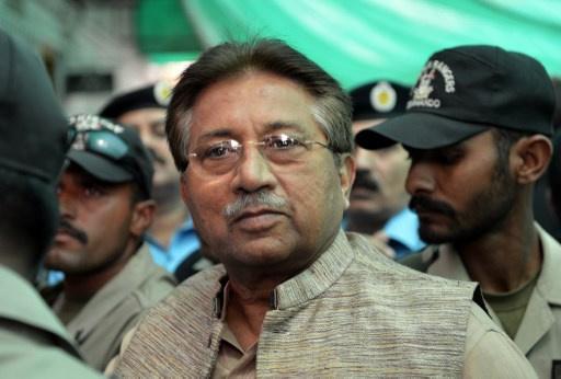 محاكمة رئيس باكستان السابق برويز مشرف بتهمة الخيانة