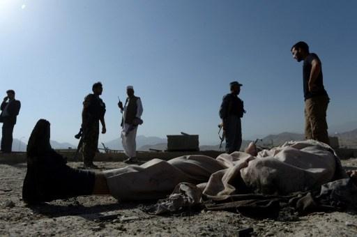 العثور على جثث 6 من رجال الشرطة قطعت رؤوسهم في أفغانستان