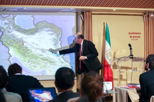 معارضون ايرانيون يؤكدون وجود منشأة نووية سرية مخبأة في جبال وسط البلاد