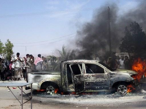 مقتل 8 من رجال الشرطة في كمين قرب مرفأ لتصدير الغاز بجنوب اليمن
