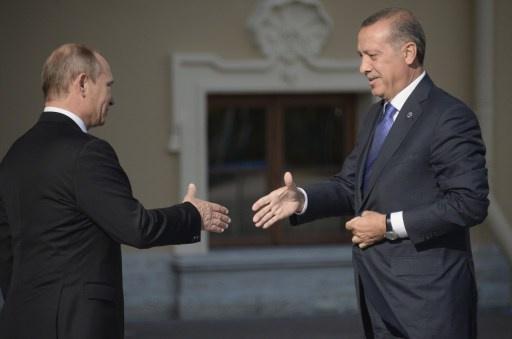 بوتين يلتقي أردوغان في بطرسبورغ في 22 نوفمبر/تشرين الثاني