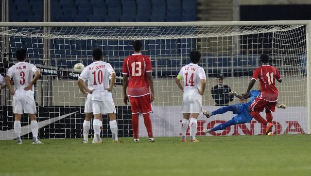 الأبيض الإماراتي يواصل سلسلة انتصاراته في تصفيات كأس آسيا