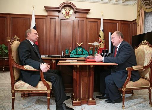 رئيس الحزب الشيوعي الروسي لبوتين: نريد إقالة حكومة مدفيديف