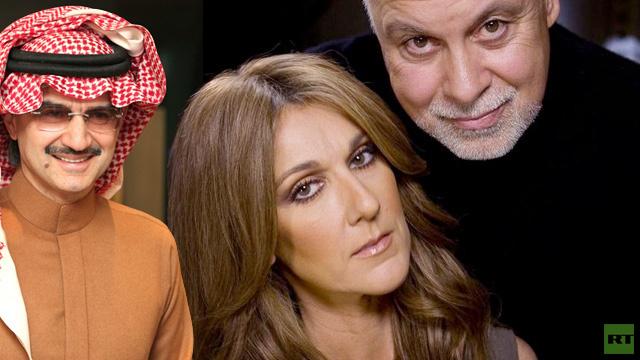 هل تسبب الأمير الوليد بن طلال بانفصال سيلين ديون عن زوجها ؟