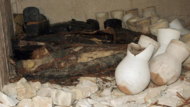 المصريون القدماء قاموا بتحنيط المأكولات إضافة إلى تحنيط الأجسام