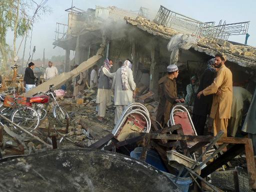 مقتل 3 اشخاص واصابة 14 في تفجير مطعم بمدينة قندهار الأفغانية