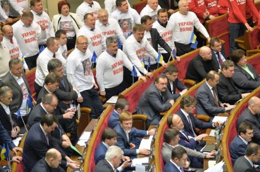 البرلمان الاوكراني يرفض مجددا مشروع قانون يسمح لتيموشينكو بالعلاج خارج البلاد