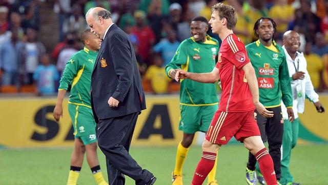 الفيفا لم يعترف بفوز جنوب أفريقيا على إسبانيا