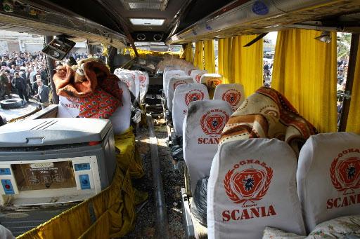 اصابة 4 من رابطة الكتاب الاردنيين في تفجير حافلتهم بسورية