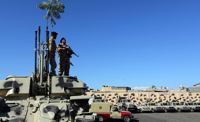 مليشيات مسلحة تعلن انسحابها من العاصمة الليبية طرابلس