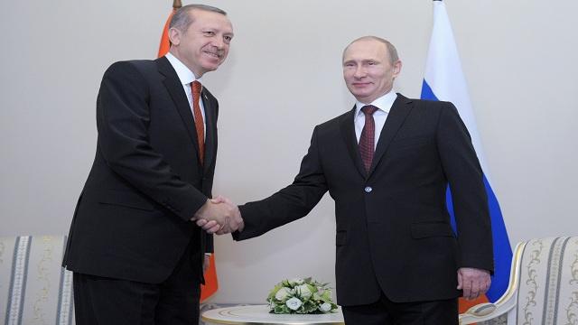 بوتين وأردوغان يناقشان المسائل الاقتصادية والتجارية التي تهم البلدين