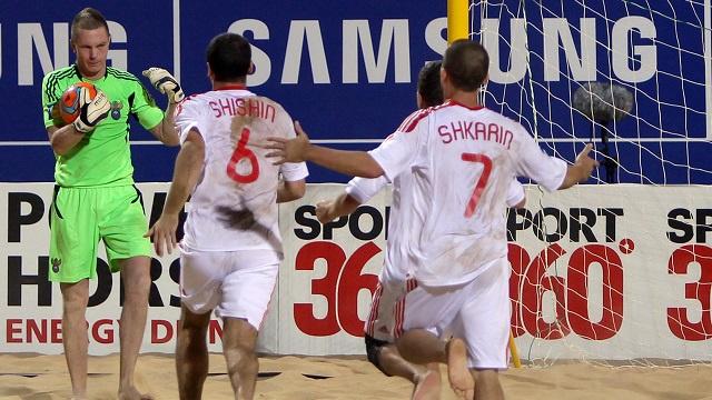 روسيا تبلغ نهائي كأس القارات لكرة القدم الشاطئية