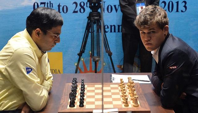 النرويجي ماغنوس كارلسن ينتزع تاج ملك الشطرنج من الهندي فيسواناثان أناند