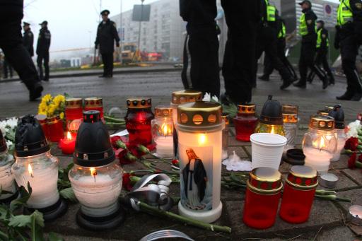 بطريرك روسيا يقدم تعازيه لرئيس ومطران لاتفيا بضحايا المتجر المنهار