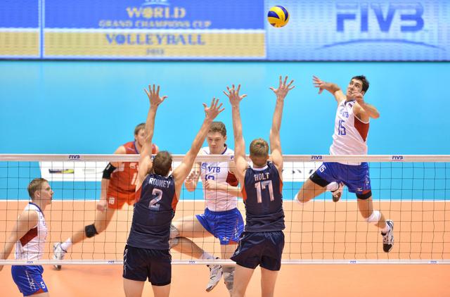 روسيا تحرز المركز الثاني في كأس العالم للقارات بالكرة الطائرة