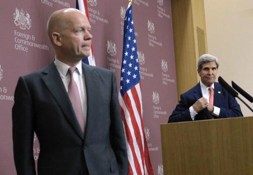 كيري وهيغ يعربان عن استعداد بلديهما لمساعدة ليبيا في استعادة الاستقرار