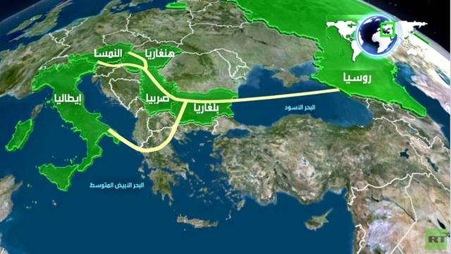 غازبروم: توريدات الغاز عبر السيل الجنوبي محجوزة بالكامل