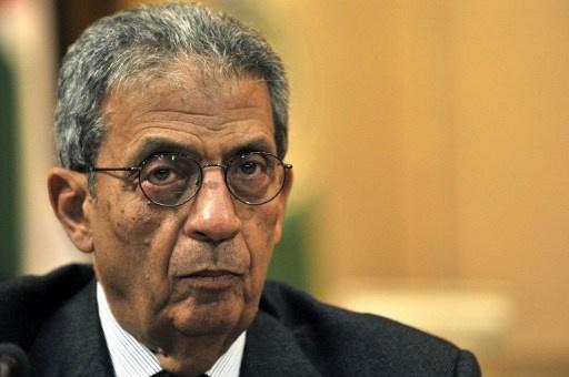 عمرو موسى يعلن عن انتهاء لجنة الخمسين من صياغة المشروع النهائي للدستور