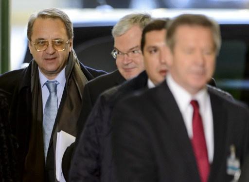 الخارجية الروسية: بوغدانوف اتفق مع وفد المعارضة السورية على مواصلة الاتصالات