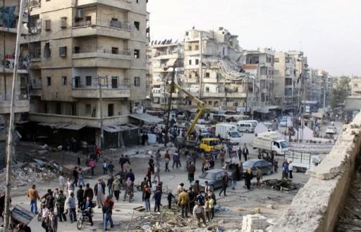 الجيش السوري يقصف مراكز مسلحي المعارضة في ريف دمشق