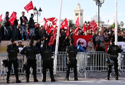 ثلاث محافظات تونسية تنفذ الاربعاء إضرابا عاما في الذكرى السنوية لما يعرف بـ