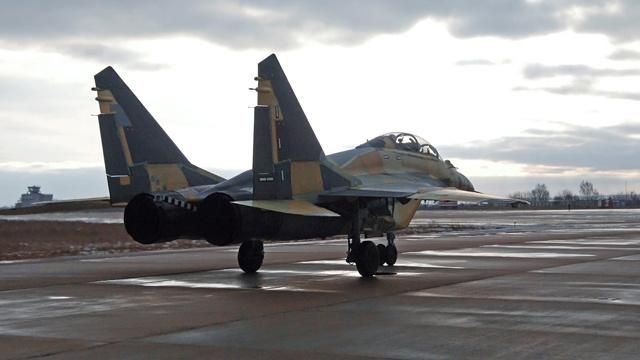 البحرية الروسية تتسلم أول دفعة من مقاتلات بحرية من طراز