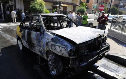 مقتل 14 شخصا واصابة 42 آخرين بتفجير بالقرب من كراجات السومرية بدمشق (فيديو)