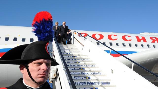 بوتين في إيطاليا لبحث الاسـتثمارات المشتركة