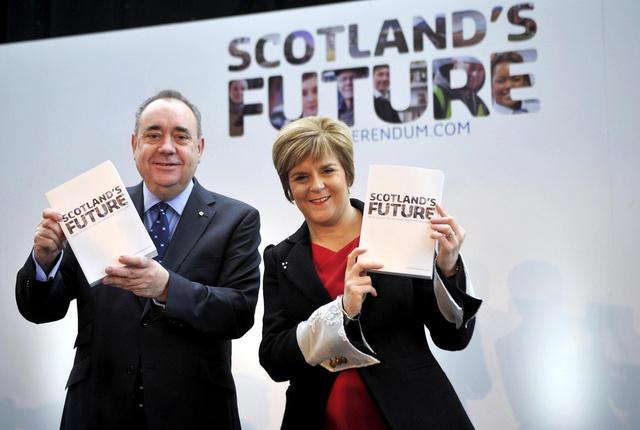 سلطات اسكتلندا تحدد 18 سبتمبر المقبل موعدا لاستفتاء بشأن الانفصال عن بريطانيا
