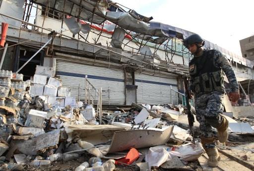 29 قتيلا وجريحا بانفجار عبوة في مجلس عزاء في أبو غريب غربي بغداد