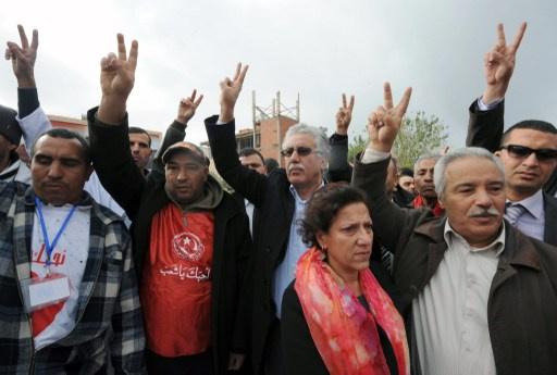 إضراب عام في ثلاث محافظات تونسية