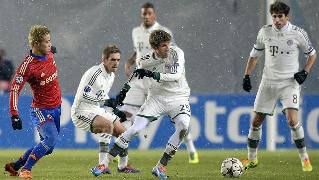 بايرن ميونيخ يهزم تسيسكا موسكو ويحطم رقم برشلونة في التشامبيونزليغ