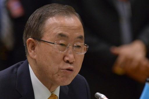 بان كي مون يتوقع اتخاذ مجلس الأمن الدولي قرارا بشأن تخفيف العقوبات ضد إيران