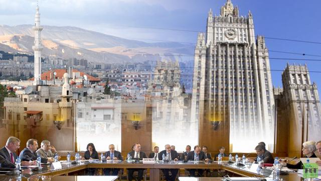 موسكو ترحب بنية دمشق حضور