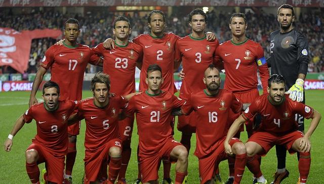 البرتغال تدخل نادي العشرة الأوائل في تصنيف الفيفا الجديد للمنتخبات