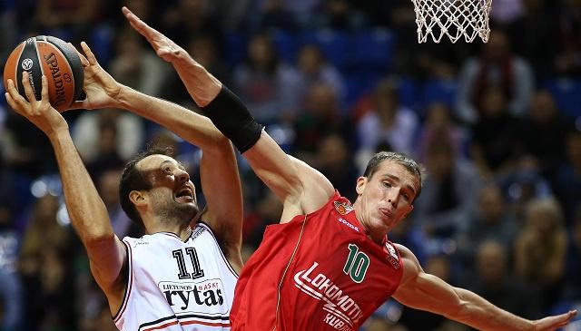 لوكوموتيف الروسي يستمر في انتصاراته بالدوري الأوروبي لكرة السلة