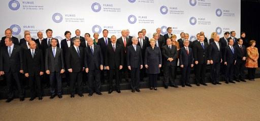 اختتام قمة الشراكة الشرقية الأوروبية ورفض كييف التوقيع على اتفاقية الشراكة مع الاتحاد الأوروبي