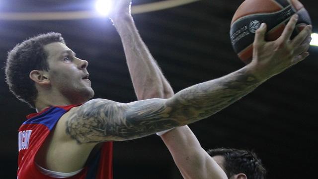 تسيسكا موسكو يبلغ دور (توب - 16) للدوري الأوروبي بكرة السلة
