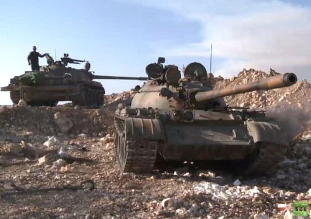 الجيش يصد هجوما للمسلحين على العتيبة في ريف دمشق
